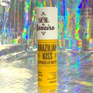 NWOB sol de Janeiro Brazilian Kiss lip balm fullsz